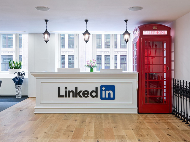 Linkedin Büros London
